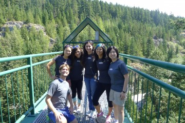 for our 2014 lab trip we jumped off a bridge