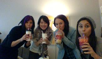 and more lab bubble tea!